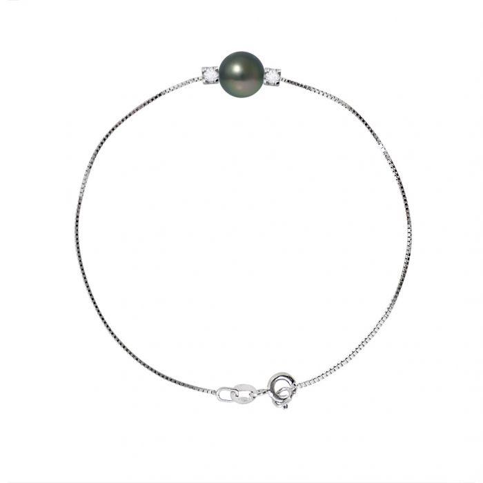 Image for DIADEMA - Bracelet in Silver - Tahiti Pearl and Diamonds