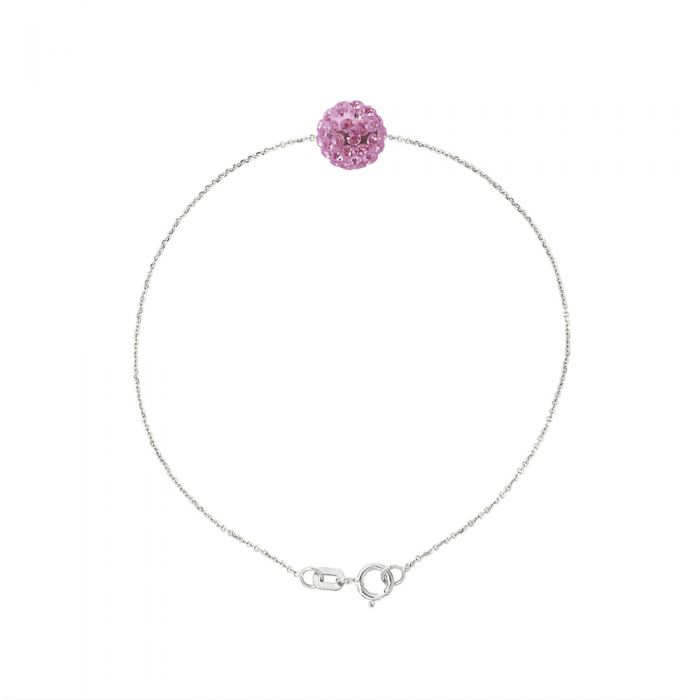Image for Pink crystal bracelet