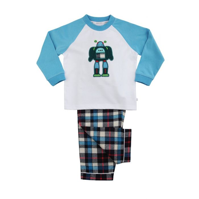 Image for Robot Cotton Pyjamas
