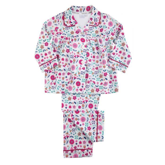 Image for Girls Traditional Floral Pyjamas