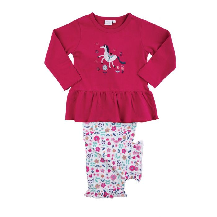 Image for Girls Unicorn Cotton Pyjamas