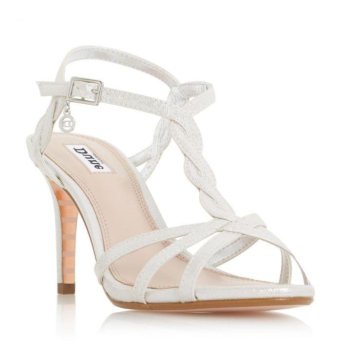 Image for Dune Ladies MYSTICK Strappy Mid Heel Sandal