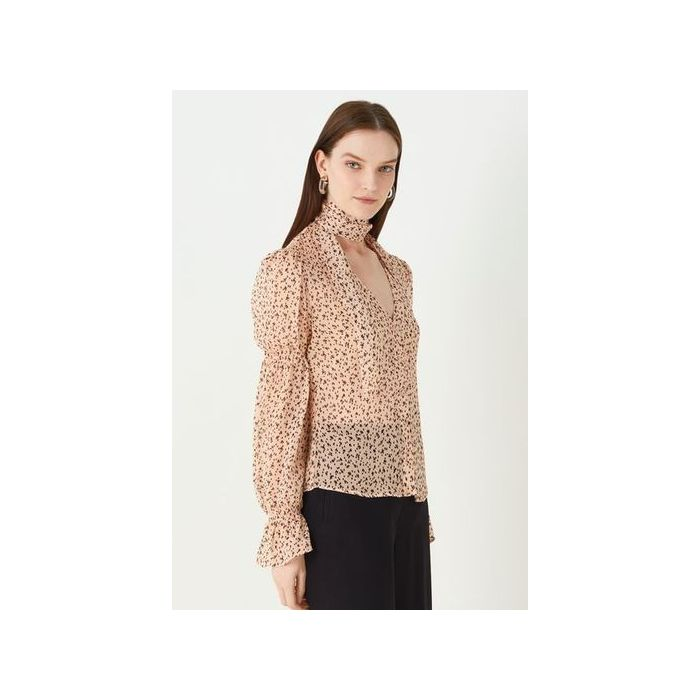 Image for Maygrove Printed Georgette Top - Multi