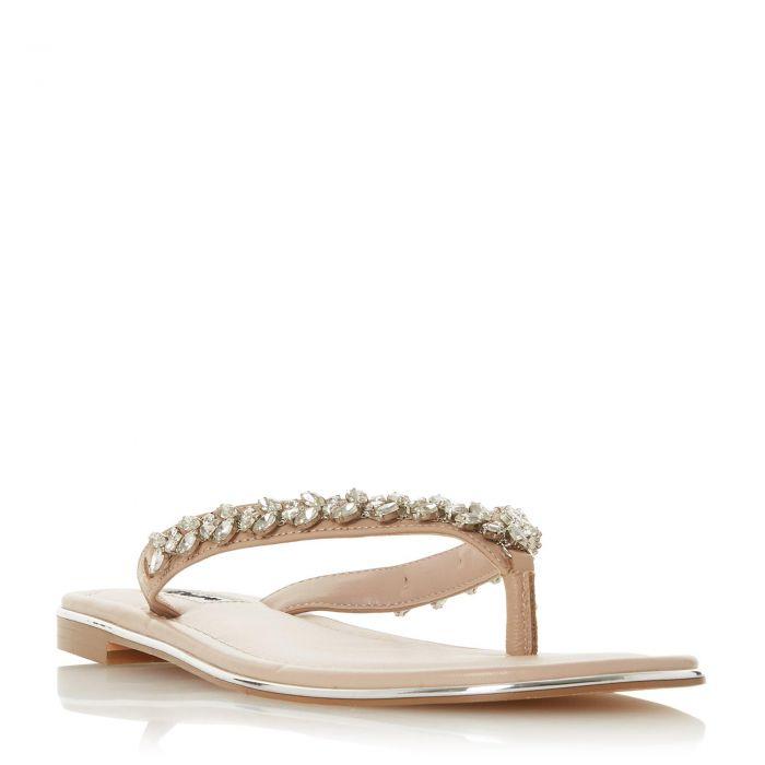 Image for Dune Ladies NEWBEY Diamante Toe-Post Sandal