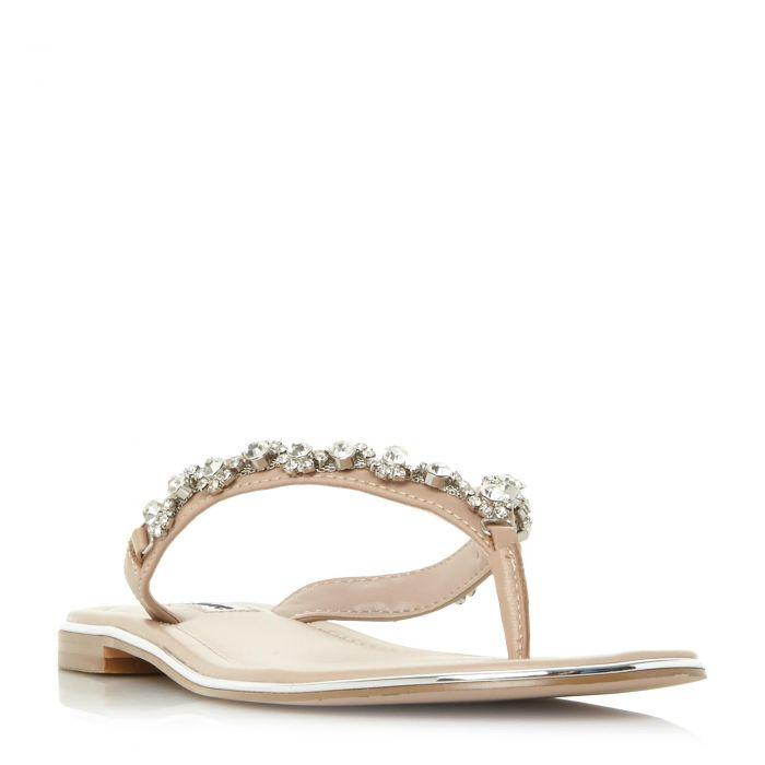 Image for Dune Ladies NEWBIE Diamante Toe-Post Sandal