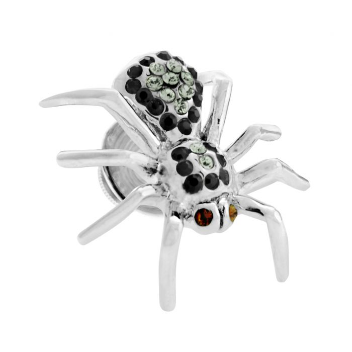 Image for Rhodium  Swarovskiski  MultiC  Spider