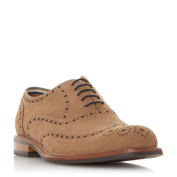 Image for Dune Mens POLLODIUM Heavy Brogue Shoe