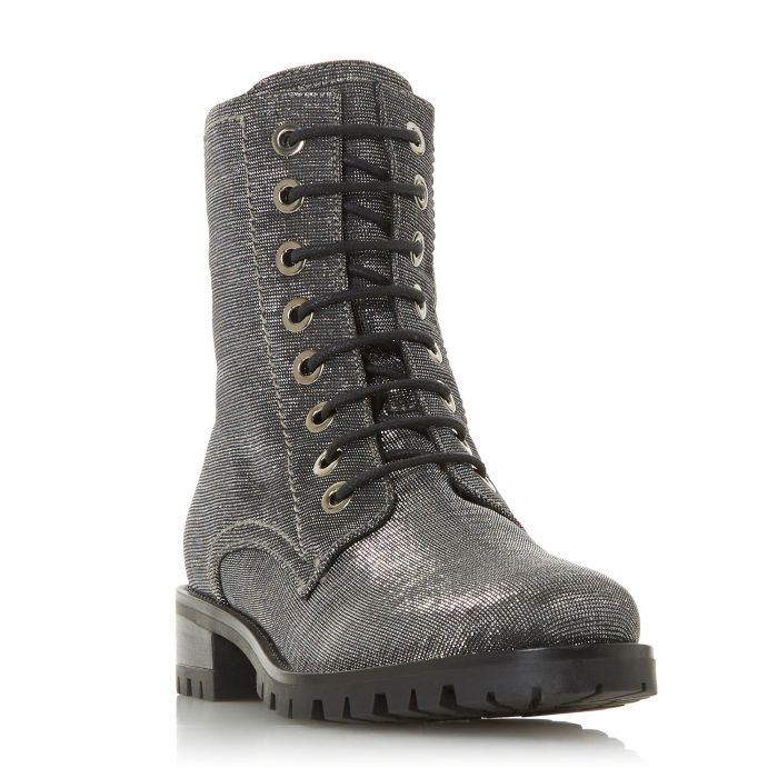 Image for Dune Ladies PRESTONE Cleated Sole Lace-Up Hiker Boot