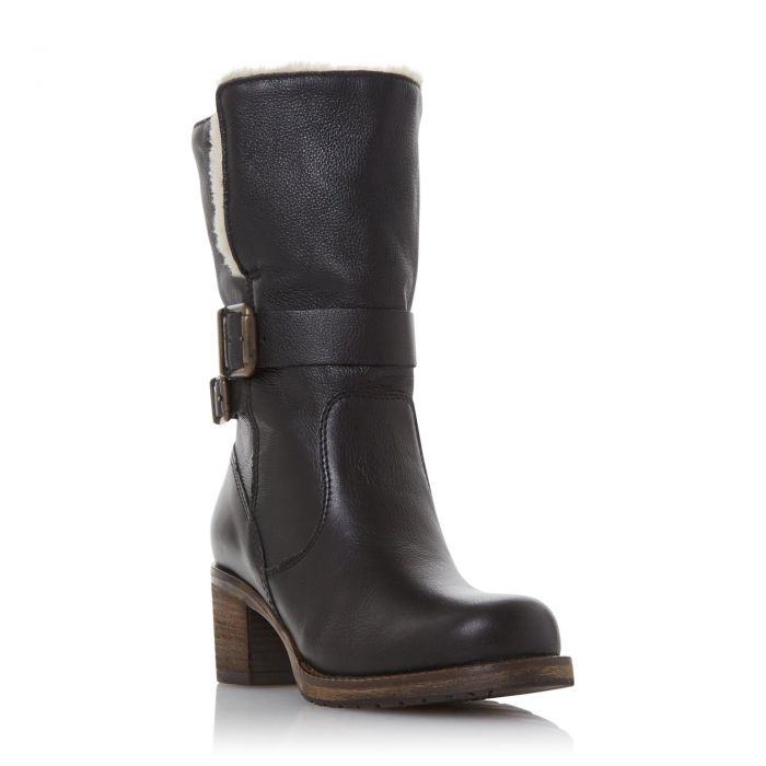 Image for Dune Ladies ROKOKO Borg Collar Calf Boot