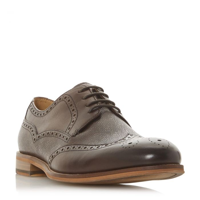 Image for Dune Mens SOURIS Embossed Wingtip Brogue