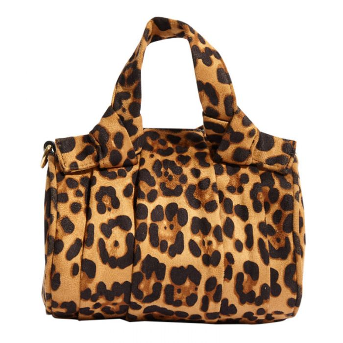 Image for Beau Leopard Tote Bag