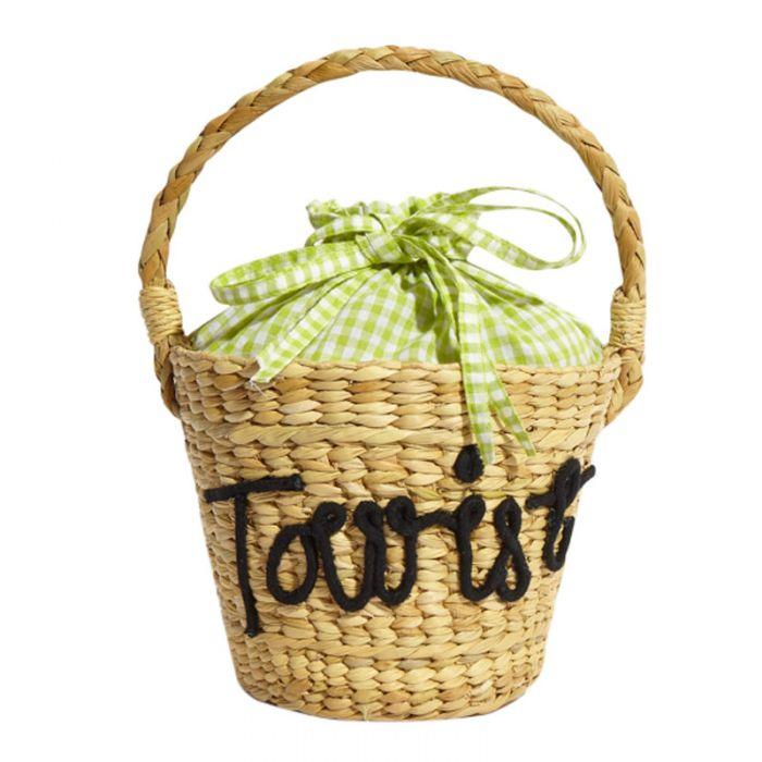 Image for Tourist Basket tote bag