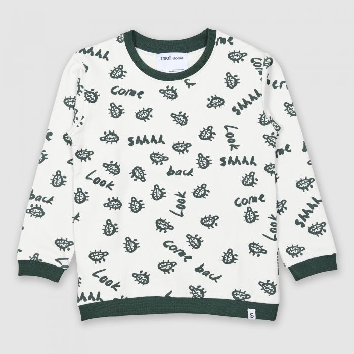 Image for Painted Bug Sweater