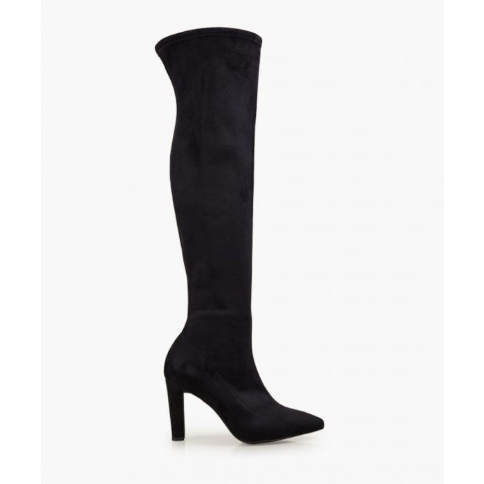 Image for Ella black high boots