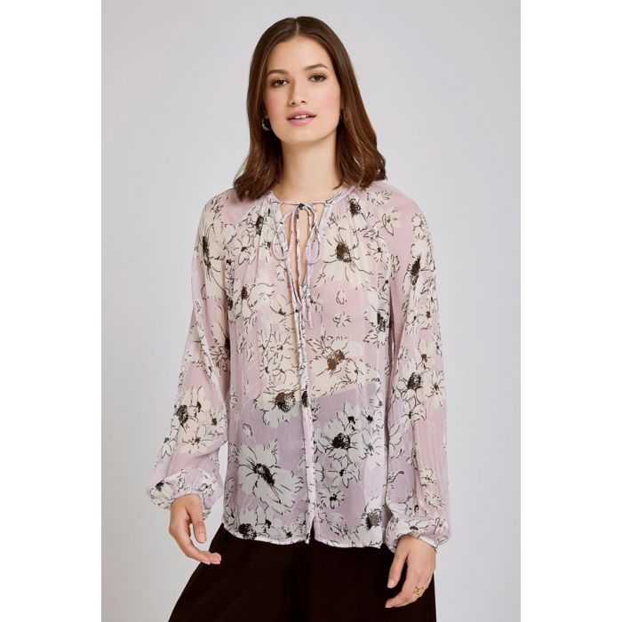 Image for Mia Floral Print Blouse