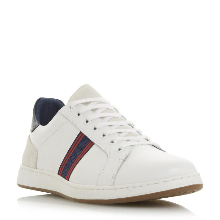 Image for Dune Mens TORONTOS Embroidered Stripe Trainer