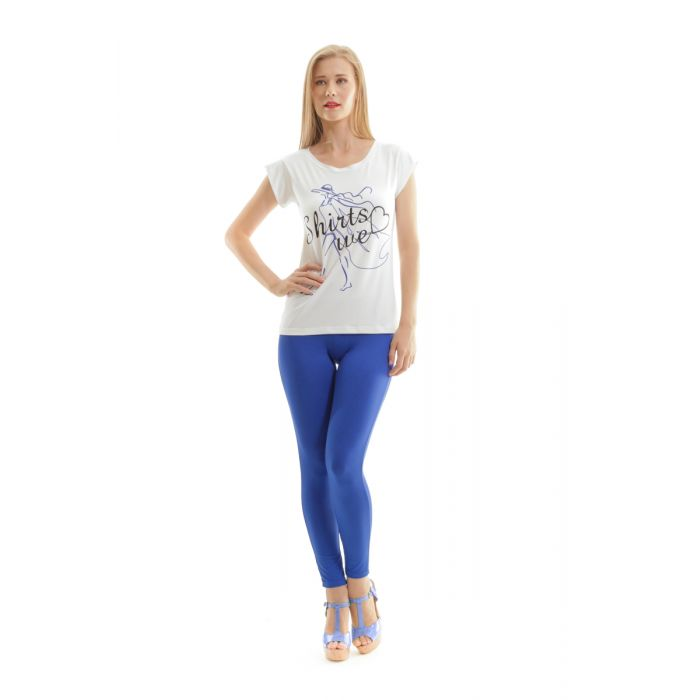 Image for Printed Short Sleeve Top