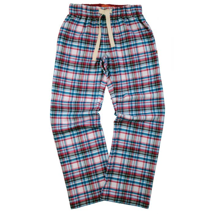 Image for Unisex Red Check Lounge Pants