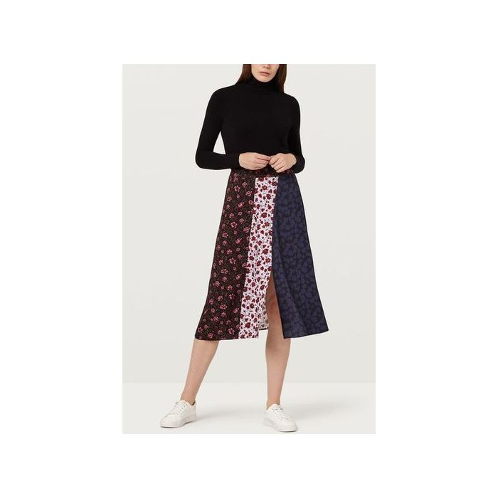 Image for Veronica Multi-Print Midi Skirt - Multi
