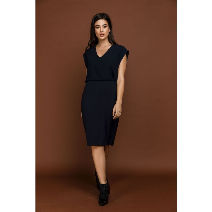 Image for Two Tone Dress by Si Fashion