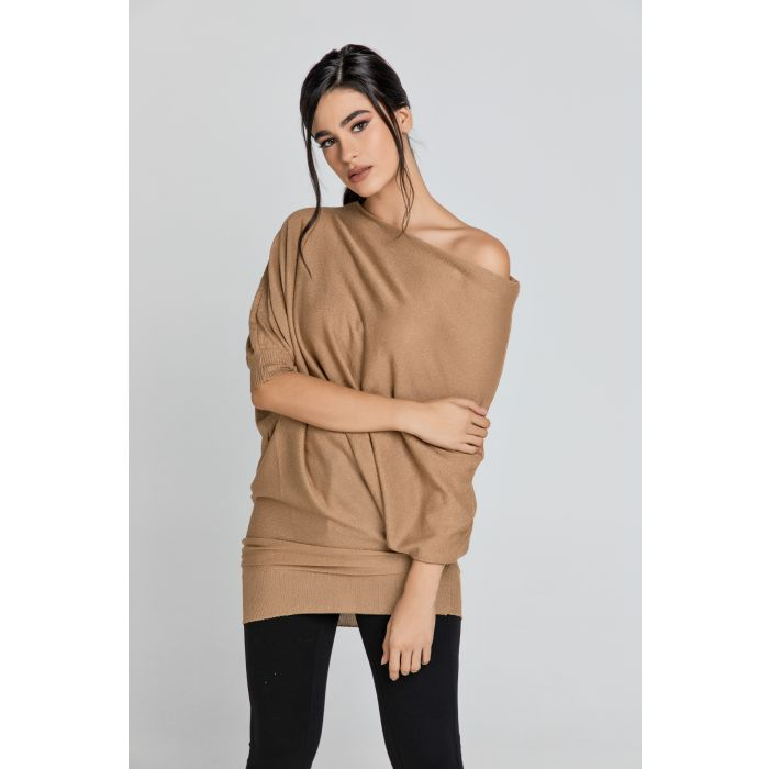 Image for Lurex Drop Shoulder Top