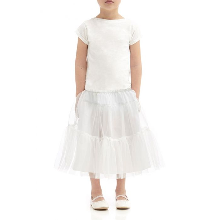Image for Alice Ivory Tutu Skirt