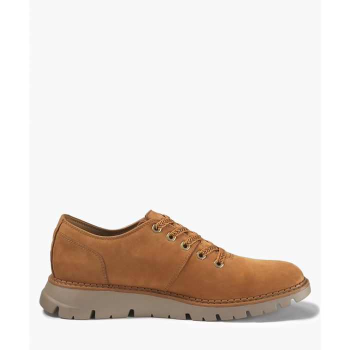 Image for Drake brown suede lace-up shoes