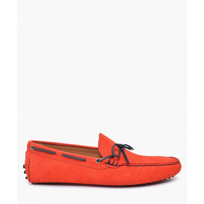 Image for Men's Red suede moccasins