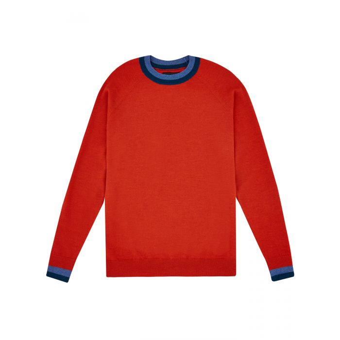 Image for Red chalet jumper