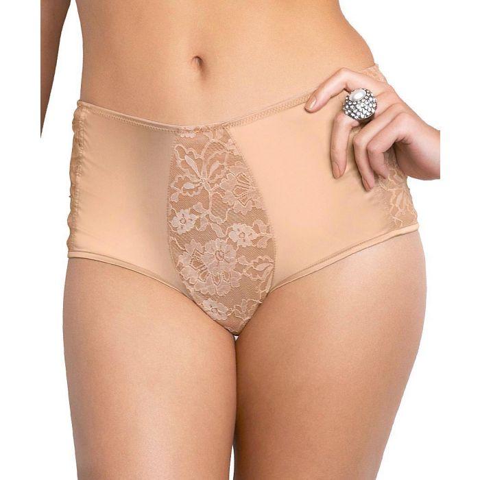 Image for Harem nude cotton blend briefs