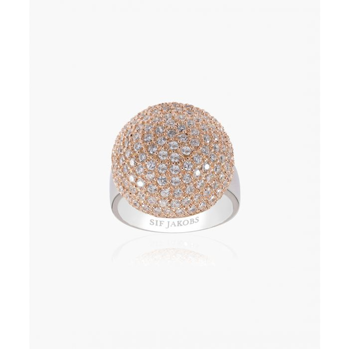 Image for Comacchio 18k rose gold-plated ring
