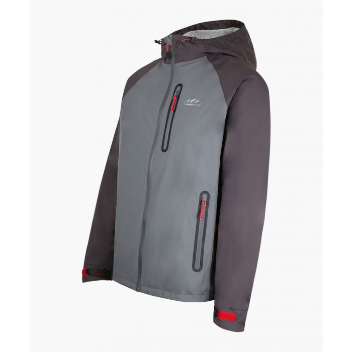 Image for Grey breathable waterproof jacket