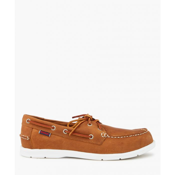 Image for Liteside brown suede boat shoes