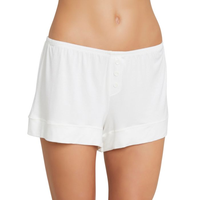 Image for Agnes ivory boyfriend shorts