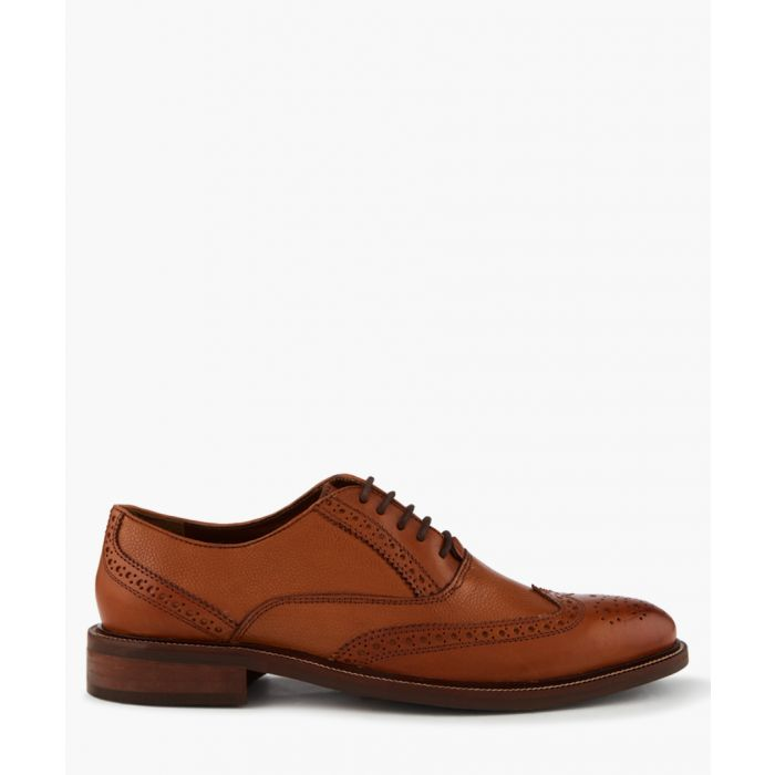 Image for Tan Leather Pebble Shoe