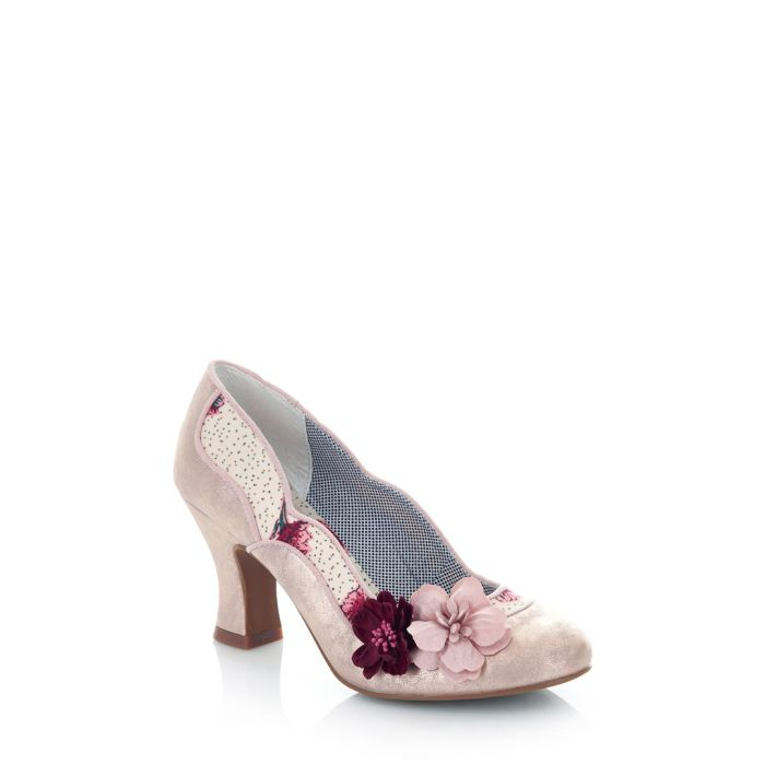 Image for Viola champagne print heels