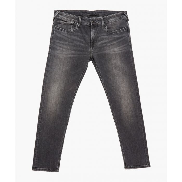 Image for Grey washed jeans