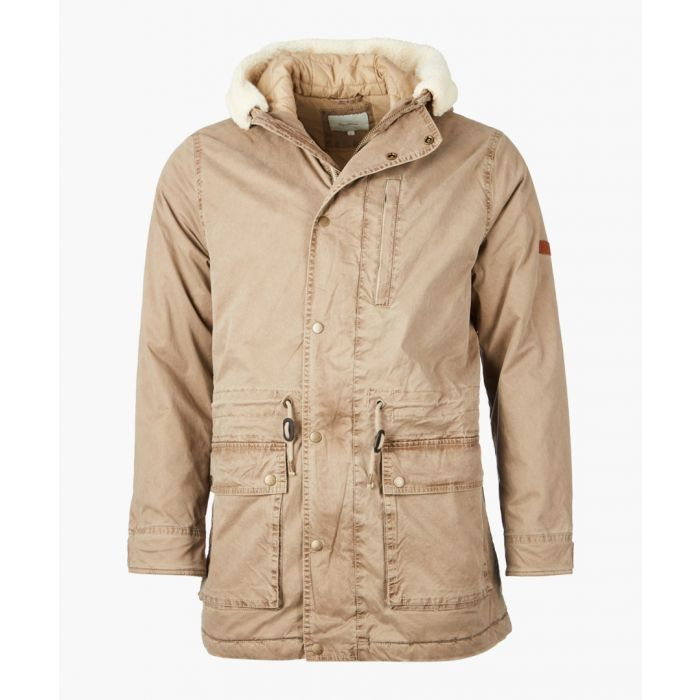 Image for Stone hooded duffel coat