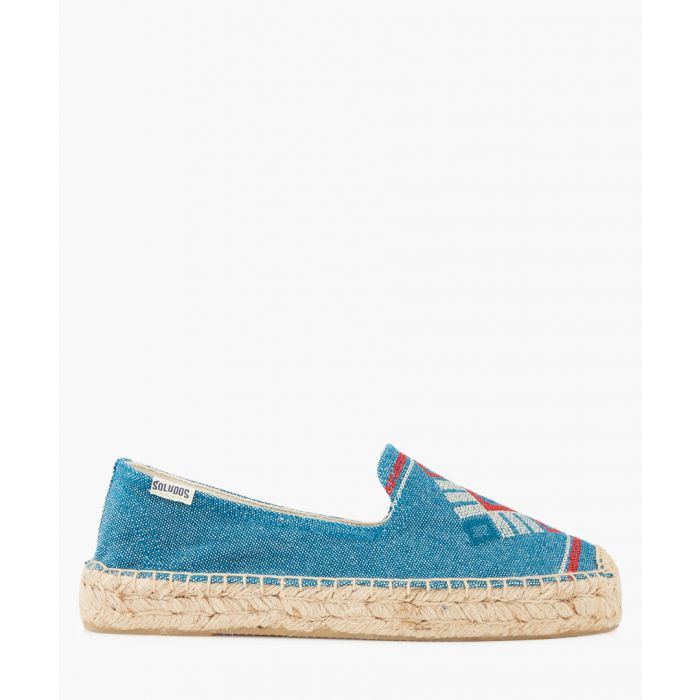 Image for Yucatan marine embroidered espadrilles