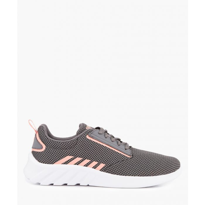 Image for Charcoal and peach trainers