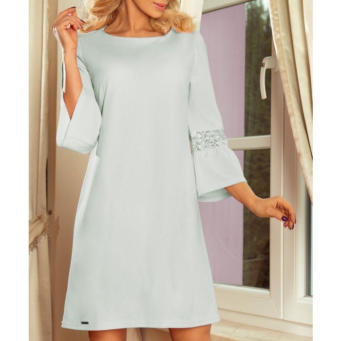 Image for ash bell sleeve shift dress