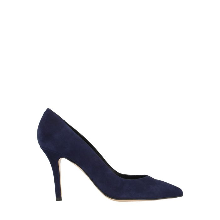 Image for Marine suede pointed heels