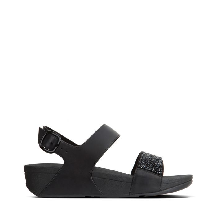 Image for Sparklie black sandals
