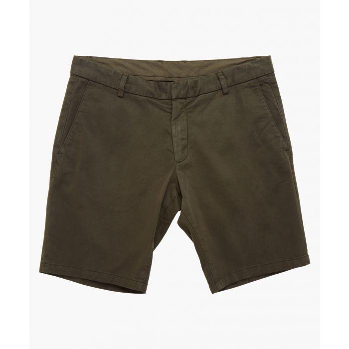 Image for Khaki cotton shorts