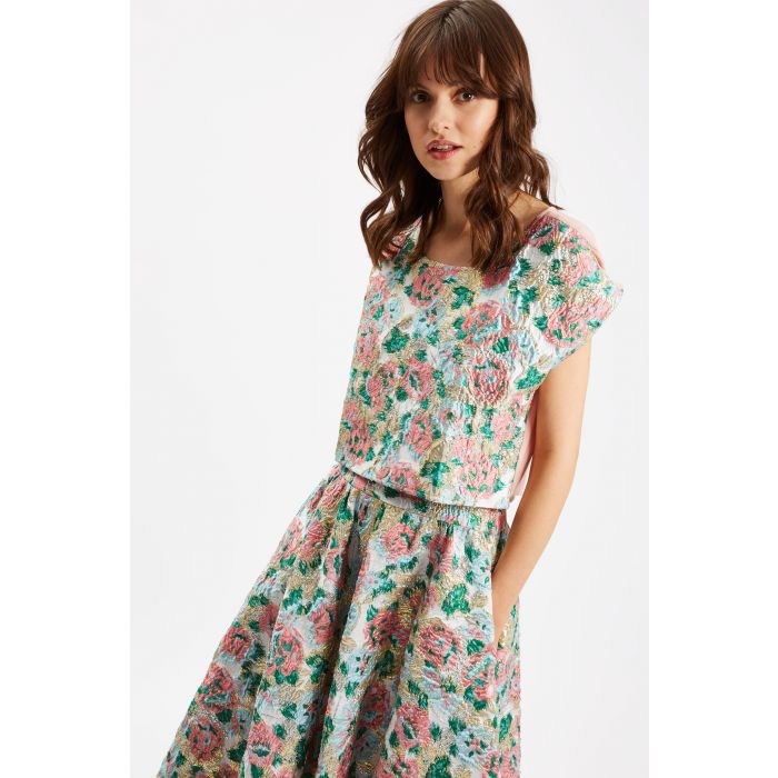 Image for Ambitious Floral Top in Pink