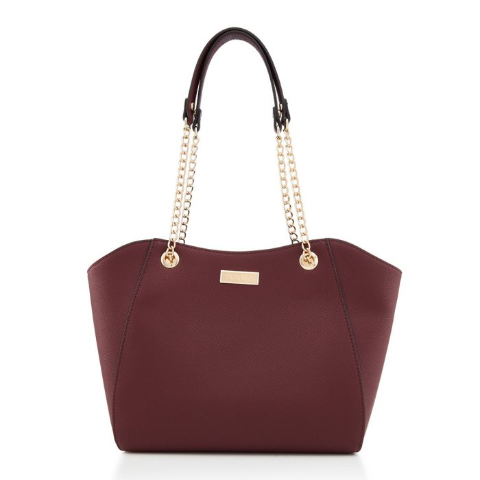 Image for Bex wine chain strap shopper