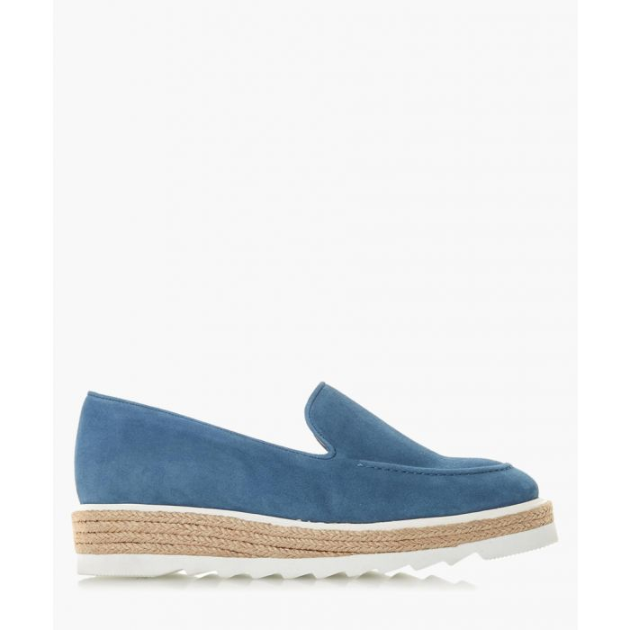 Image for Genie navy suede loafers