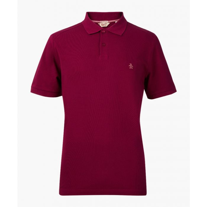 Image for Winston mulberry cotton blend pique polo