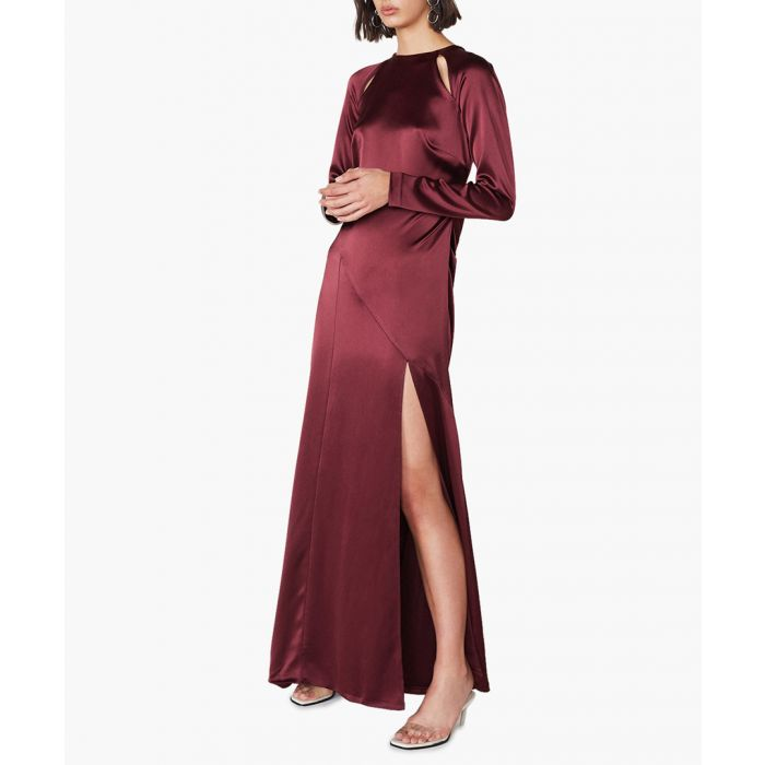 Image for Montagu bordeaux dress