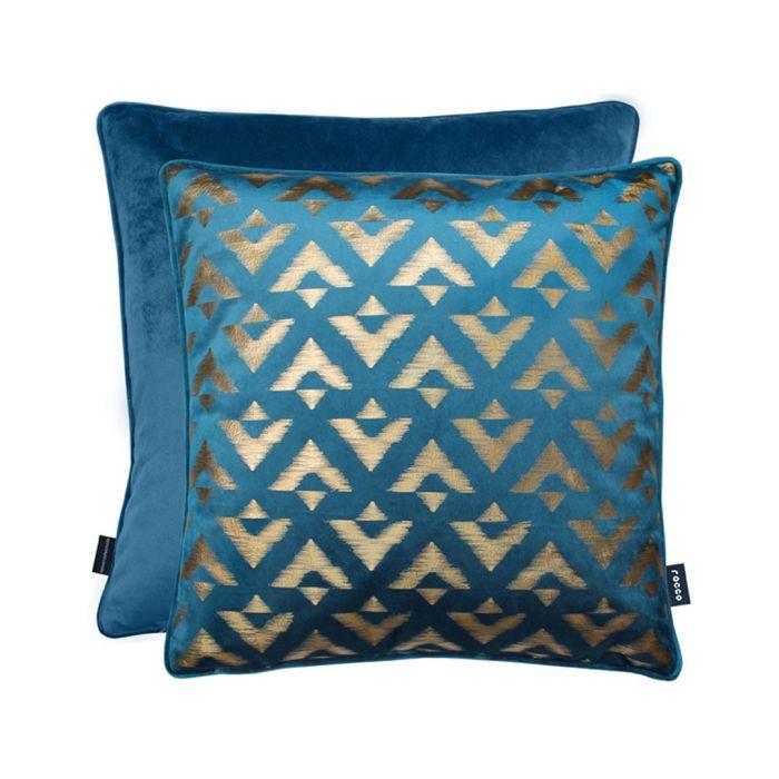 Image for Samba teal cushion 43cm